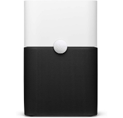Blue Pure Air Purifier on white background