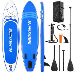MaxKare Inflatable Stand Up Paddle Board on white background