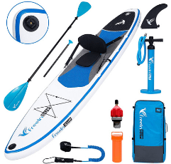 Freein Inflatable Paddle Board on white background