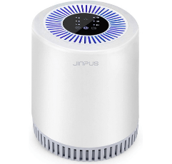 Jinpus Air Purifier on white background