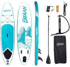 Fayean Inflatable Paddle Board on white background