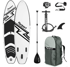 FBSPORT Inflatable Stand Up Paddle Board on white background