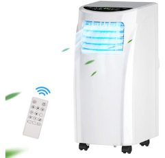 COSTWAY Portable Air Conditioner on white background